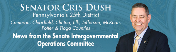 Senator Cris Dush E-Newsletter